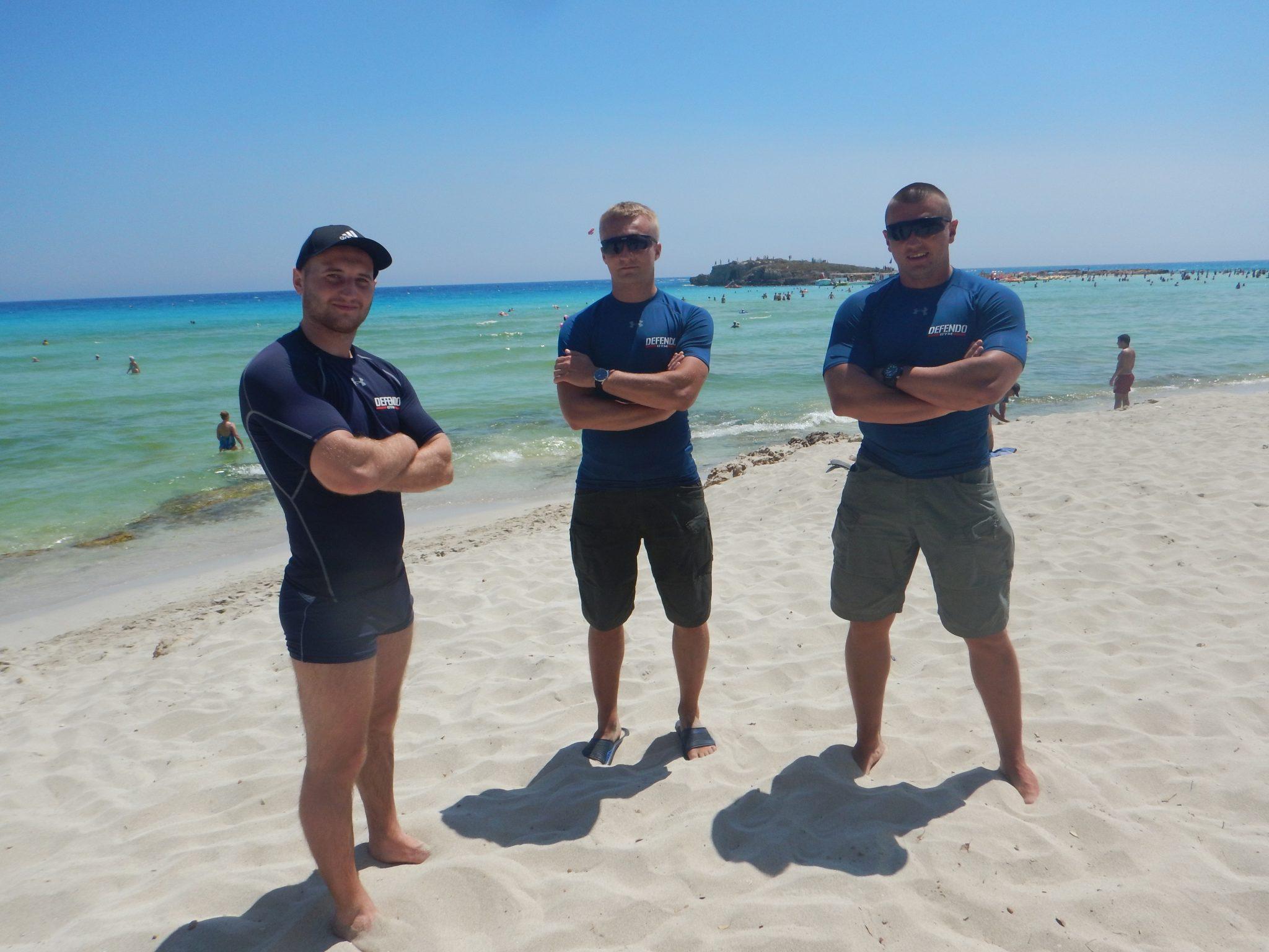 Cypr - Plaża Nissi